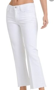 NY&C cropped flare jeans
